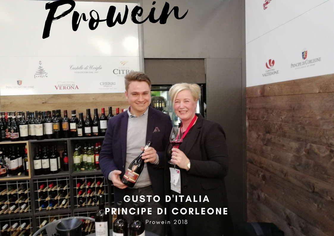 Gusto d'Italia Prowein Principe di Corleone