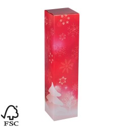 Kokerdoos, 1 fles, kerst
